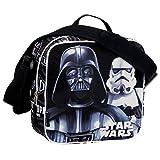 """Star Wars Darth Vader y Stormtrooper """"sombra"""" refrigerador aislado bolsa de almuerzo (Negro)"""