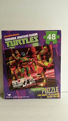 Teenage Mutant Ninja Turtles TMNT 48-Piece Puzzle - Mutants Rule - 1