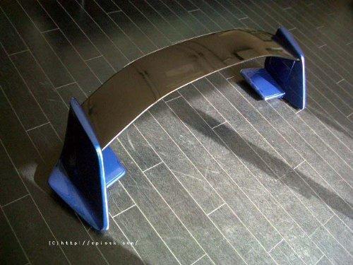 トヨタ86 / TOYOTA86 GTウィング オーストラリア仕様 86 GTS エアロパッケージ リアウィング 湾岸仕様 リアスポイラー メーカー純正塗装済み E8H:ギャラクシーブルーシリカ