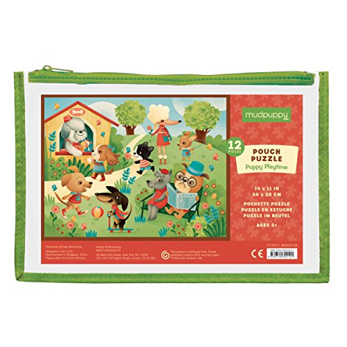 Mudpuppy Puppy Playtime Pouch Puzzle