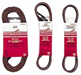 Milwaukee 49-93-8115 1/2 by 18-Inch Aluminum Oxide 60-Grit Belt, 10-pack