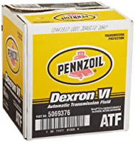 Pennzoil 5069376 Dexron - VI Automatic Transmission Fluid - 1 Quart, 6-Pack by Pennzoil