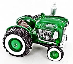 piggy bank car shaped green tractor adult