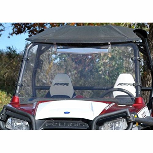 Polaris RZR 800 XP900 XP 900 570 XP4 RZR4 Full Windshield NON-FOLDING with Hardware Set (800s Rzr Hood compare prices)