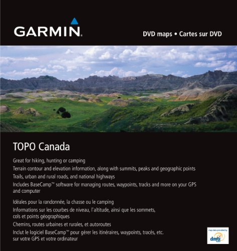 Garmin TOPO! Topographical Maps (Canada)