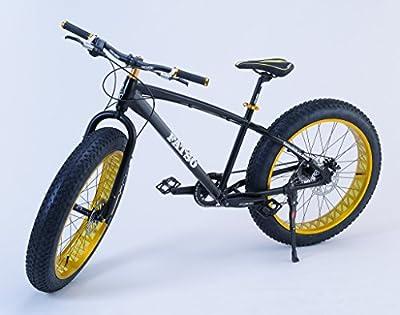 Fatso Bikes Fat Bike ビーチクルーザー自転車 Fatbike ファットバイク Black x Gold 26インチ