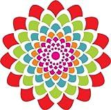 "DIY Rangoli for Deepavali - MDF Stencil (15 "" x 15"")"
