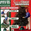 Swivel Straight 1-Minute Christmas Tree Stand - For Real Trees Up To 10'