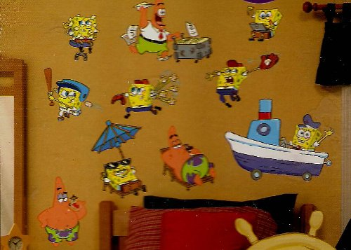 SpongeBob Squarepants Jumbo Stick-Ups - 1