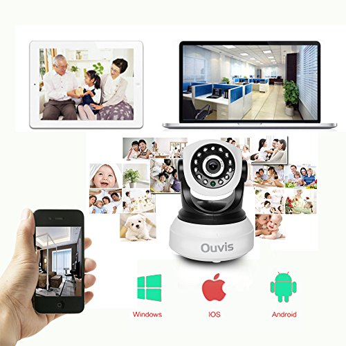 Ouvis Veezon Vz1 2 0 Mp Smart Home Wireless Ip Camera For
