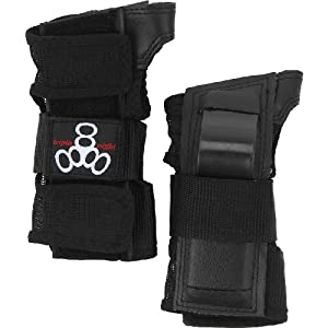 Triple 8 Saver Series Wristsavers (Black, Small)