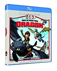 How To Train Your Dragon 3D (Blu-ray 3D + Blu ray + DVD) [2010]