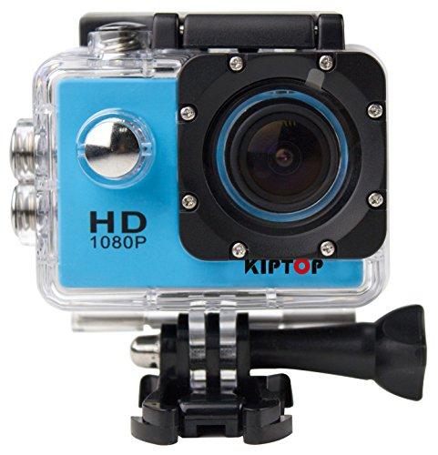 KIPTOP Unterwasserkameras 1.5 Zoll Full HD Sport Kamera 170...