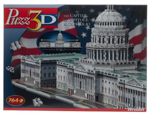 Cheap Hasbro Puzz 3D – The Capitol Puzzle (B00083HJ76)