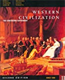 Western Civilization: The Continuing Experiment Since 1560 (0395870690) by Noble, Thomas F. X.