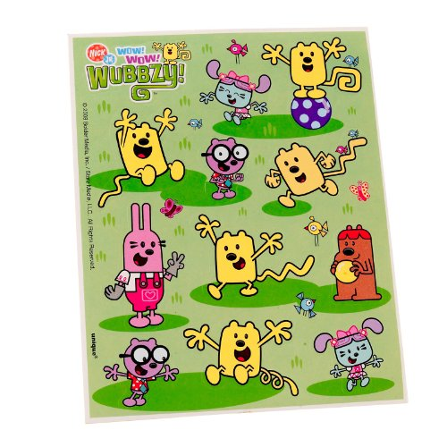 Wow! Wow! Wubbzy! Stickers (4 count) - 1