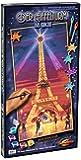 Schipper 609220716 Tableau de peinture par numéros Tour Eiffel de nuit 40 x 80 cm