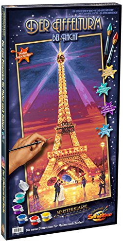 Schipper Eiffel Tower Paint-by-Number Kit