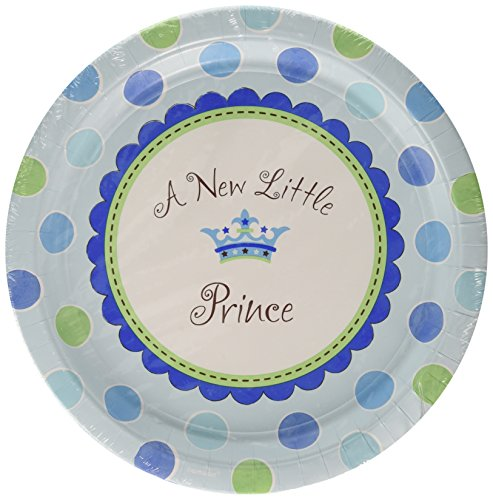 "Little Prince 10"" Round Plates"