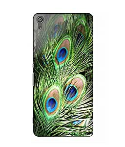 Case Cover Printed Multicolor Hard Back Cover For Sony Xperia XA Dual