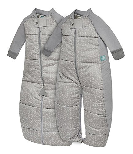 ergoPouch EXP2-12G3.5 3.5 TOG Sleep Suit Bag, Grey, 2-12 Months