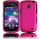 Samsung illusion I110 Samsung Galaxy Proclaim S720C Rubberized Cover - Hot Pink
