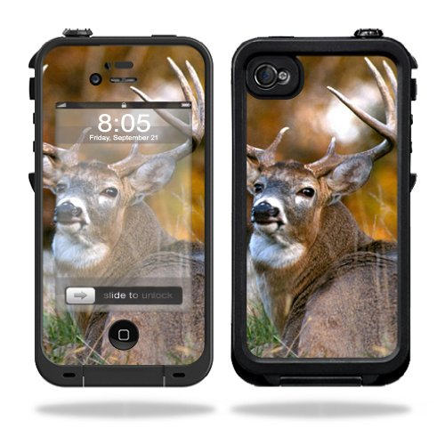 Mightyskins Protective Vinyl Skin Decal Cover for LifeProof iPhone 4 / 4S Case wrap sticker skins Deer (Iphone 4s Skin Decal compare prices)
