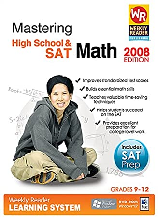Weekly Reader Learning System Mastering High School Math and the SAT