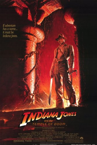 Indiana Jones and the Temple of Doom Poster Movie B 11x17 Harrison Ford Kate Capshaw Ke Huy Quan Picture