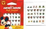 Disney Christmas Fun Mickey Mouse Minnie Mouse Kiss Licensed Nail Art