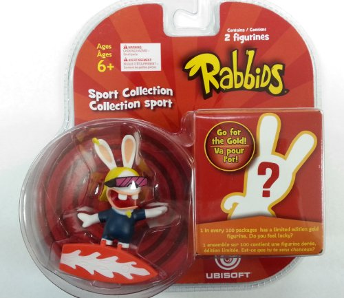 Rabbids in Sports - Surfing Figure / Plus One Mystery Figure