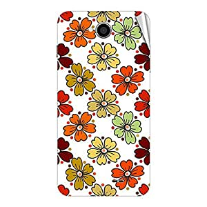 Garmor Designer Mobile Skin Sticker For Intex Aqua i6 - Mobile Sticker