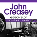 Gideon's Lot: Gideon of Scotland Yard, Book 13 Audiobook by John Creasey Narrated by Hugh Kermode