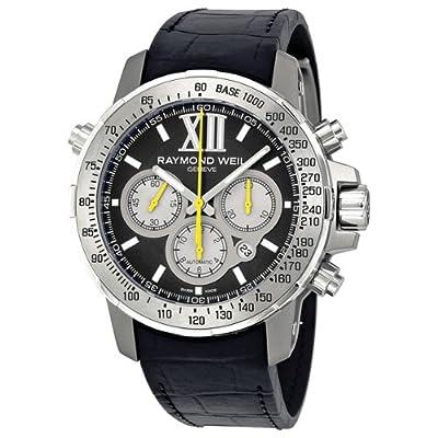 Raymond Weil Men's 7800-Tir-00207 Automatic Titanium Black Dial Chronograph Watch from Raymond Weil