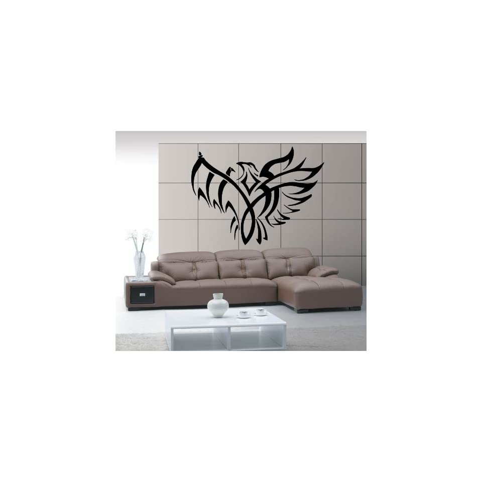 Eagle Flight Spread Wings American Symbol Animal Tribal Design Wall Mural Vinyl Decal Sticker M265