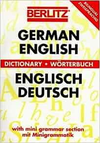 Berlitz german english english german dictionary for Dictionary englisch deutsch