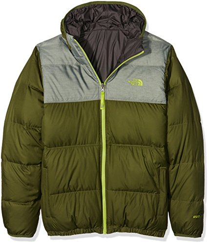 North Face B Reversible Moondoggy Giacca, Verde/Terrarium Green, S