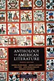 img - for Anthology of American Literature, Vol. 1 book / textbook / text book