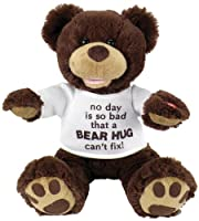 "Chantilly Lane 11"" Huggy Bear with T-shirt Sings ""So You Had a Bad Day"" by Chantilly Lane"