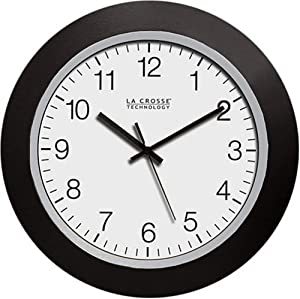 la crosse technology atomic digital wall clock manual
