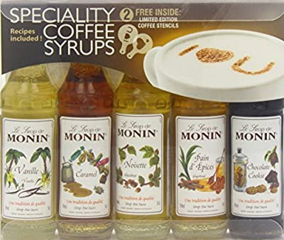 Monin Syrup Coffee Gift Set 5x5cl from Monin