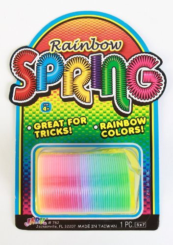 DDI 1186729 Springs Slinky Rainbow Color