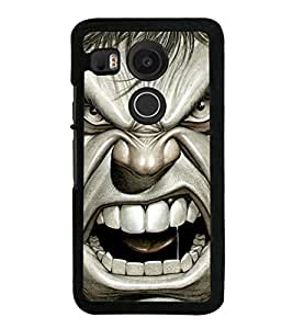 Popular Hollywood Action Hero 2D Hard Polycarbonate Designer Back Case Cover for LG Nexus 5X :: LG Google Nexus 5X New