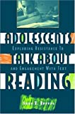 Adolescents Talk about Reading: Exploring Resistance to and Engagement with Text (0872075362) by Anne R. Reeves