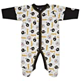 NFL Pittsburgh Steelers Sleep-N-Play Infant Bodysuit, 0-3 Months