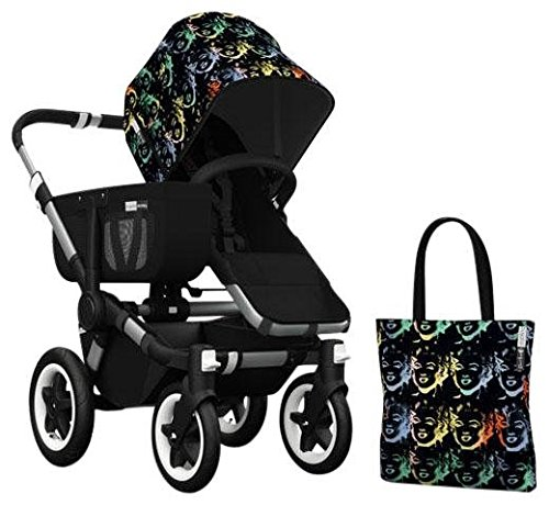 Bugaboo Donkey Accessory Pack - Andy Warhol Marilyn/Black (Special Edition)