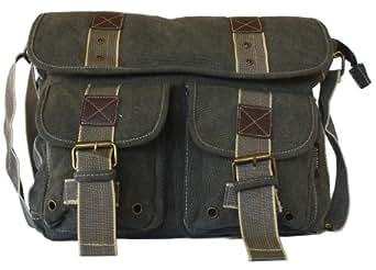 Military Style Messenger Bag Laptop Bookbag Backpack Field Bag Cross Body