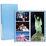 Pioneer Photo Albums CF-3 144-Pocket Poly Cover Space Saver Photo Album, Blue