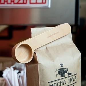 Wood Cafe Clip ウッドカフェクリップ 計量スプーン