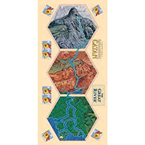Settlers of Catan The Great River Board Game
